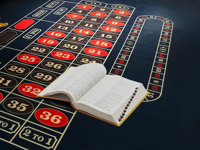 Terminology related to roulette